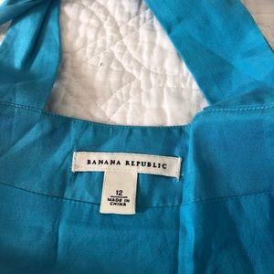 Banana Republic Dresses - Banana Republic blue summer dress